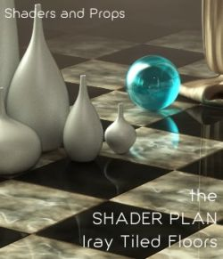 Shader Plan - Iray Classic Tile Floors and Props