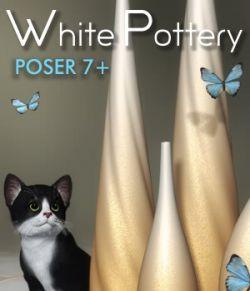 White Pottery- Poser