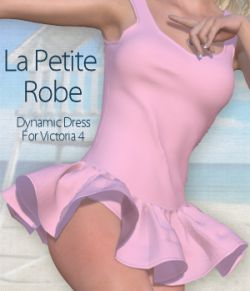 La Petite Robe for V4 and Poser