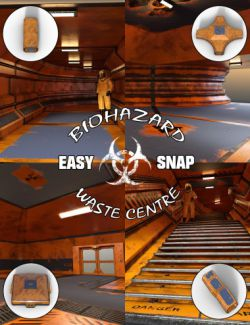 Easy Snap BioHazard Waste Centre