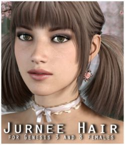 Jurnee Hair for Gen3/8 Females