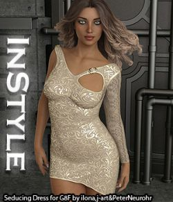 InStyle - Seducing Dress for Genesis 8 Female