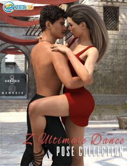 Z Ultimate Dance Collection- Poses and Partials for Genesis 3 and 8