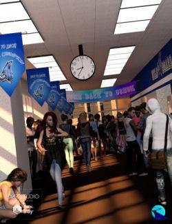 Now-Crowd Billboards- School Life