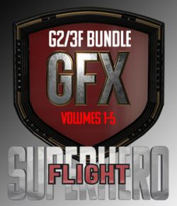 SuperHero Flight Bundle for G2F and G3F
