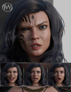 Unique and Special - Expressions for Genesis 8 Female and Zelara 8