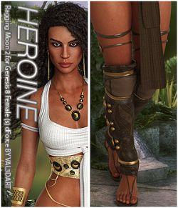 HEROINE- Raging Moon 2 for Genesis 8 Female (s) dForce