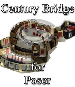 Century Bridge for Poser