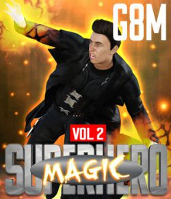 SuperHero Magic for G8M Volume 2