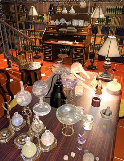 Steampunk Alchemy Set