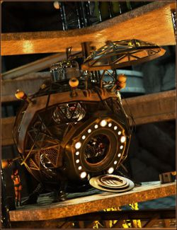 Steampunk Time Machine