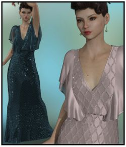 dForce- Butterfly Gown for G8F