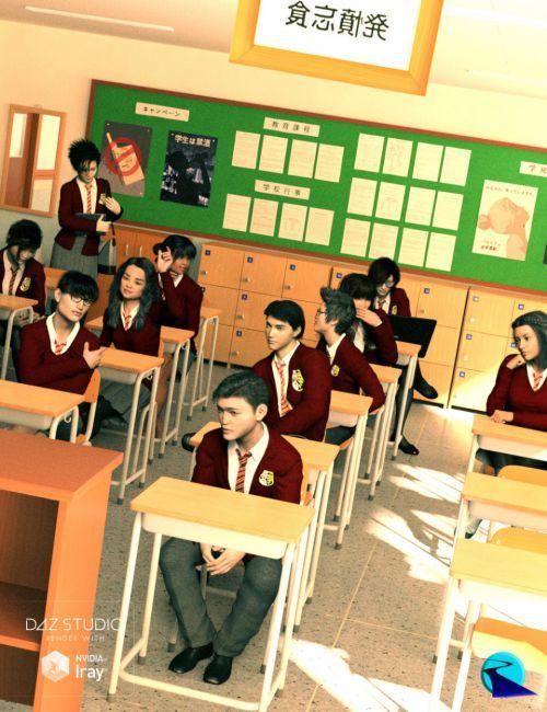 Now-Crowd Billboards - Asian School Life
