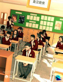 Now-Crowd Billboards- Asian School Life