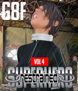 SuperHero Restrained for G8F Volume 4