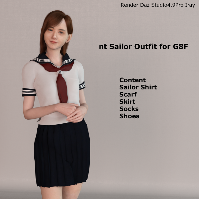 nt Sailor Outfit for G8F