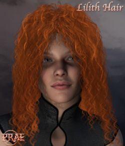 Prae-Lilith Hair V4/M4 Poser
