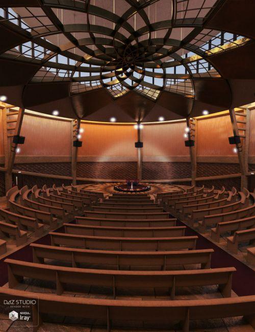 Lotus Flower Auditorium