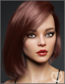 Lary Hair for Genesis 3 and 8 Female(s)