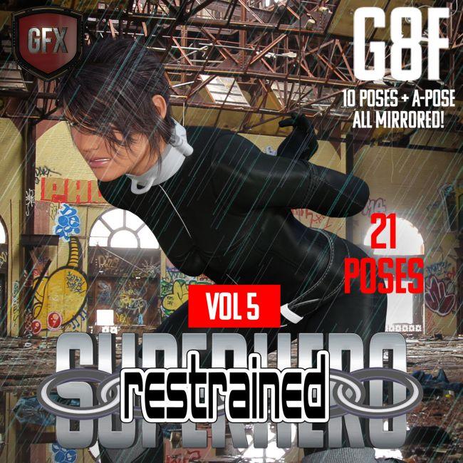 SuperHero Restrained for G8F Volume 5