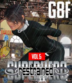 SuperHero Restrained for G8F Volume 5