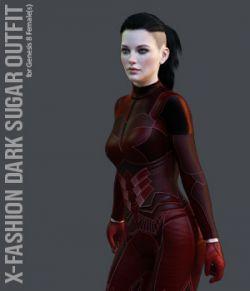 X-Fashion Dark Sugar for Genesis 8 Females