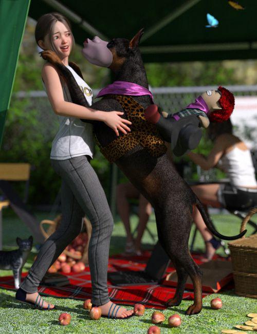 Fun Clothes for Daz Dog 8