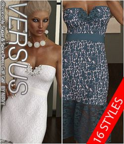 VERSUS - dforce only Sugar & Spice Dress G3F G8F