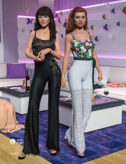 dForce Summer Socialite Outfit Textures