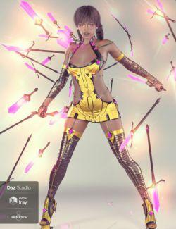 Zaquida for Genesis 8 Female