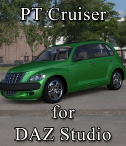 PT Cruiser for DAZ Studio