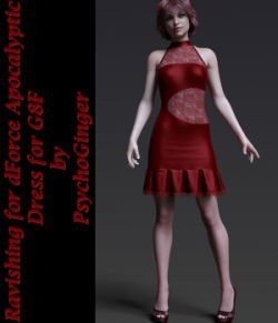 Ravishing for dForce Apocalyptic Dress