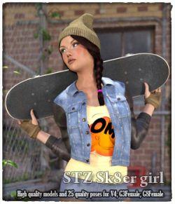 STZ Sk8er girl