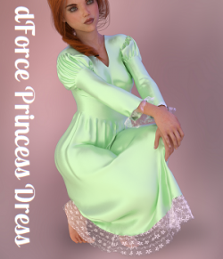 a93 - dForce Princess Dress G8F