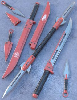 Blade Weapons 2 for Genesis 3 and 8