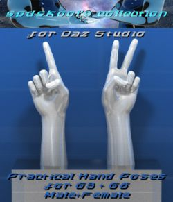 Practical Hand Poses for G3 and G8