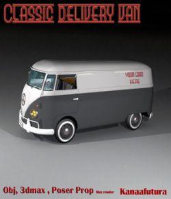 Classic delivery van