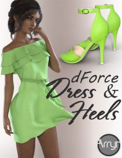 dForce Alina Outfit for Genesis 8 Female(s)