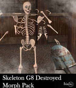 Skeleton G8M Destroyed Morphs