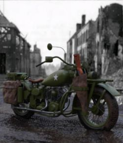 WWII Hero Motorcycle