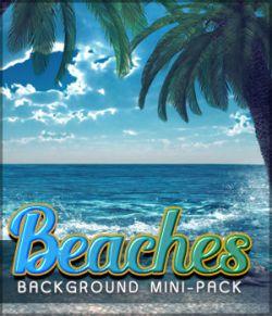 Beaches Background Mini Pack