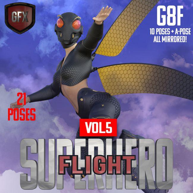 SuperHero Flight for G8F Volume 5