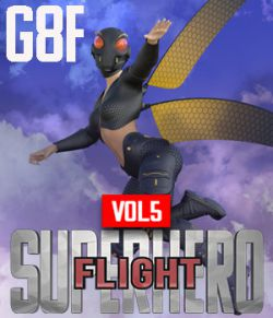 SuperHero Flight for G8F Volume 5