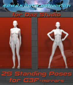 25 Standing Poses for GF3