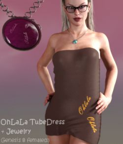 OhLaLa TubeDress G8F- dForce