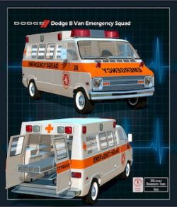 DODGE B VAN AMBULANCE
