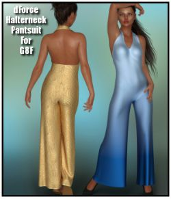 dForce- Halterneck Pantsuit for G8F