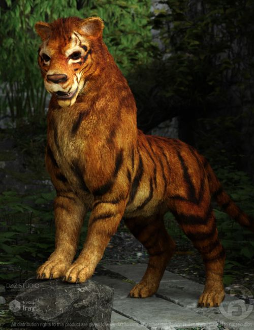Big Cat-Dog for Daz Dog 8