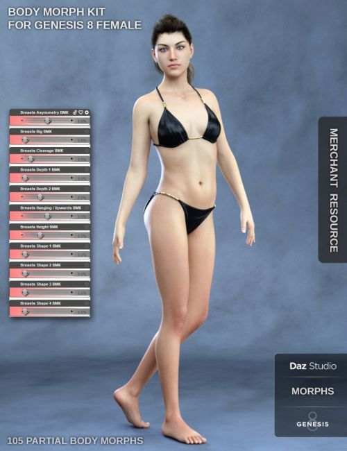Body Morph Kit for Genesis 8 Female
