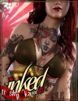 Inked Vol.18: Trash Polka for Genesis 8 Female(s)